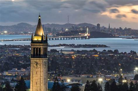 Berkeley, CA - where I spent my undergraduate years